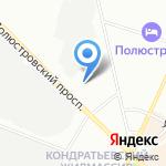 Техстройкомплект на карте Санкт-Петербурга