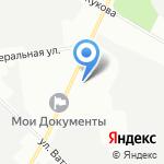 Арго бир на карте Санкт-Петербурга