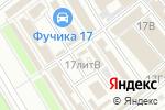 Схема проезда до компании Вега в Санкт-Петербурге