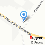 Спасатель на карте Санкт-Петербурга