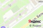 Схема проезда до компании Bubble Gum в Санкт-Петербурге