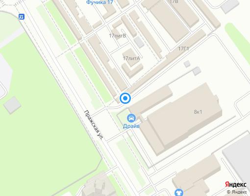 Жилищно-строительный кооператив «ЖСК-317» на карте Санкт-Петербурга