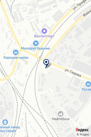ТФ СТРОЙПРОЕКТ на карте Санкт-Петербурга
