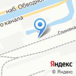 Экспресс логистика на карте Санкт-Петербурга
