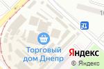 Схема проезда до компании Львівські меблі в
