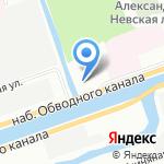 Церковная благотворительная больница Святой Блаженной Ксении Петербургской на карте Санкт-Петербурга