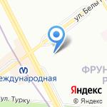 NPS на карте Санкт-Петербурга