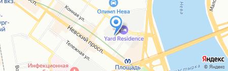 Шиномонтажная мастерская на Александра Невского на карте Санкт-Петербурга