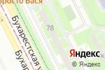 Схема проезда до компании Амелис в Санкт-Петербурге