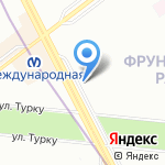 ЗаПутевкой.рф на карте Санкт-Петербурга