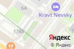 Схема проезда до компании АЛЬФА в Санкт-Петербурге