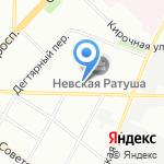 ВТО на карте Санкт-Петербурга