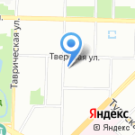 Средняя общеобразовательная школа №18 на карте Санкт-Петербурга