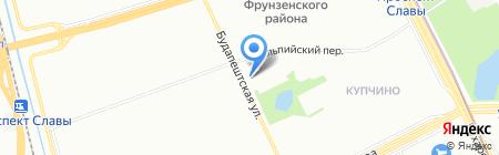 Суши-пицца на карте Санкт-Петербурга