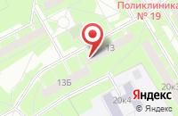 Схема проезда до компании Шоу-Сервис в Санкт-Петербурге
