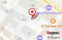 Схема проезда до компании Дабог в Санкт-Петербурге