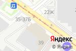 Схема проезда до компании Карбакс в Санкт-Петербурге