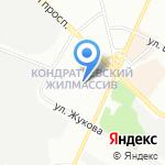 Мелиоративная система Санкт-Петербурга на карте Санкт-Петербурга