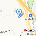 Магазинчик на карте Санкт-Петербурга