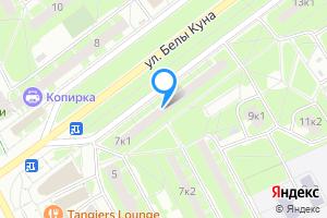 Однокомнатная квартира в Санкт-Петербурге ул. Белы Куна, 7к1