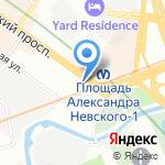 InkService на карте Санкт-Петербурга