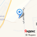 Рябинушка на карте Санкт-Петербурга
