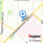 Главное управление МВД России по г. Санкт-Петербургу и Ленинградской области на карте Санкт-Петербурга
