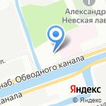 Церковь Святого Апостола и Евангелиста Иоанна Богослова на карте Санкт-Петербурга