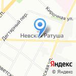 Рен-сервис плюс на карте Санкт-Петербурга