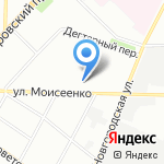 Симос на карте Санкт-Петербурга