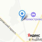 ВилГУД на карте Санкт-Петербурга