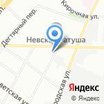 Альфа-Cервис на карте Санкт-Петербурга