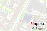 Схема проезда до компании Ленинградская областная универсальная научная библиотека в Санкт-Петербурге