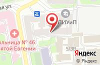 Схема проезда до компании Класс в Санкт-Петербурге