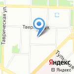 Детский сад №155 комбинированного вида на карте Санкт-Петербурга