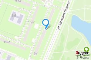 Сдается комната в Санкт-Петербурге м. Гражданский проспект, улица Демьяна Бедного, 16к1