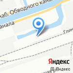 НОРДПЛАСТ на карте Санкт-Петербурга