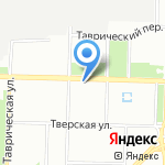 LENBA на карте Санкт-Петербурга