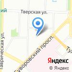 Техмонтаж на карте Санкт-Петербурга