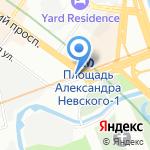 Духовно-просветительский центр на карте Санкт-Петербурга