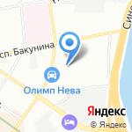 АВТО-АТЕЛЬЕ на карте Санкт-Петербурга
