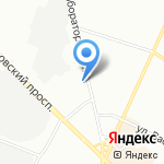 Строй-Бетон на карте Санкт-Петербурга