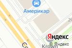 Схема проезда до компании Астория Моторс в Санкт-Петербурге