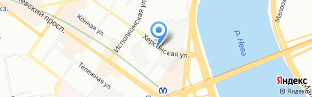 Империя Гранд на карте Санкт-Петербурга