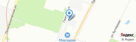 Ветро-Свет на карте Санкт-Петербурга