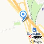Храм Воскресения Христова на карте Санкт-Петербурга
