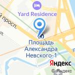 Софрино на карте Санкт-Петербурга