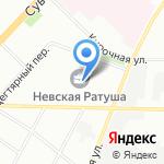 Балтсервис на карте Санкт-Петербурга