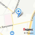 Геостром на карте Санкт-Петербурга