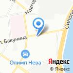 Агробалт на карте Санкт-Петербурга